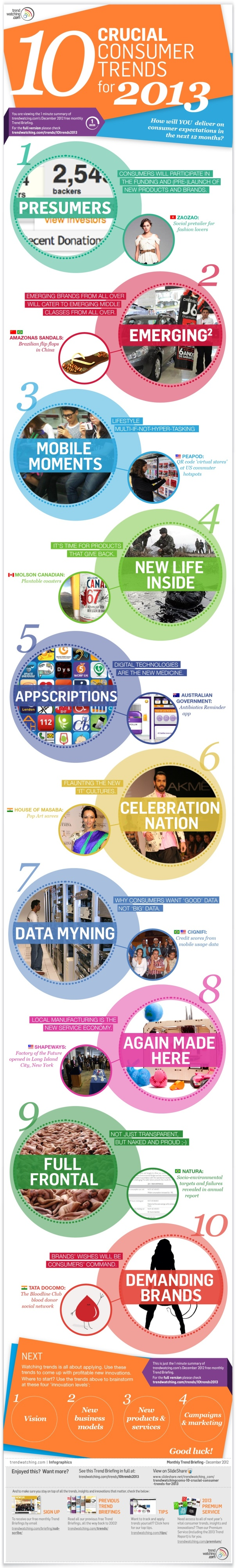 10 Consumer Trends for 2013 [Infographic]